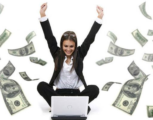 Gagné de l'argent avec le business en ligne